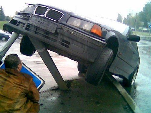 Стоял себе светофор..