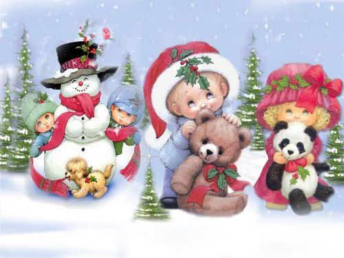 Красивые картинки и детские нового года