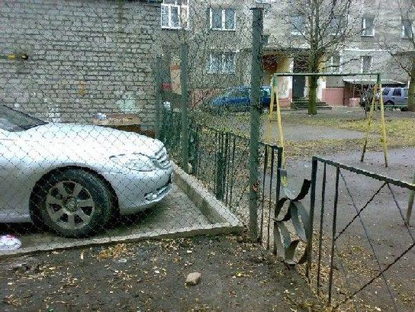 штраф за неправильную парковку за знаком