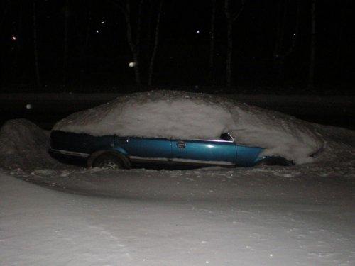 Оставил машину на ночь