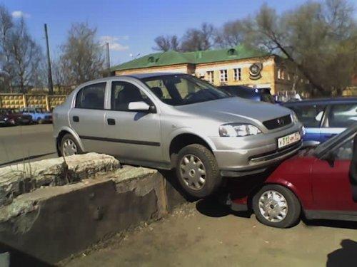 Парковка для блондинки