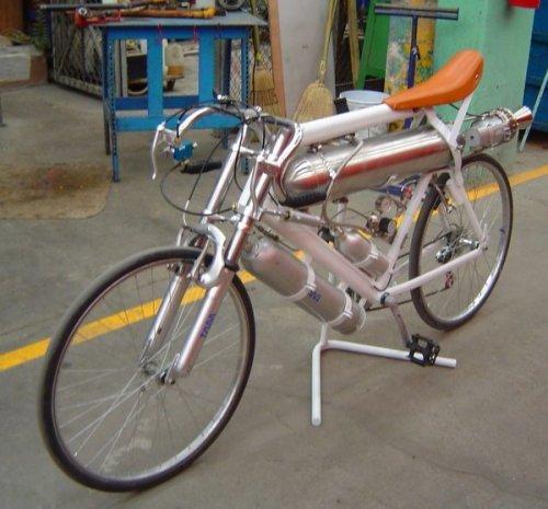 Реактивный велосипед