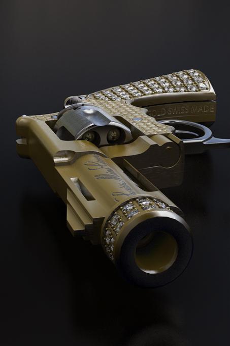 Самый маленький револьвер в мире