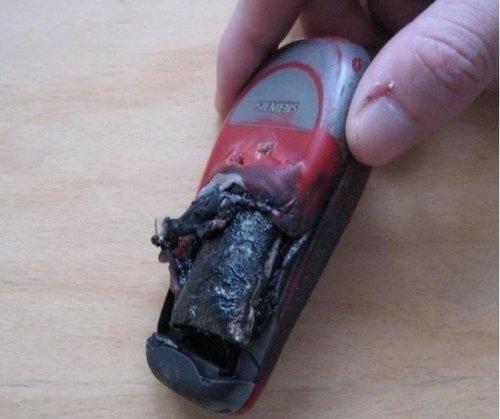 Взрыв аккумулятора