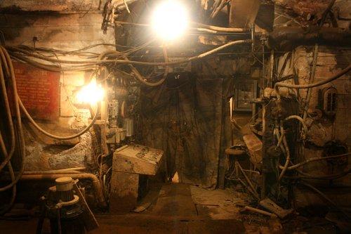Заброшенный ствол шахты