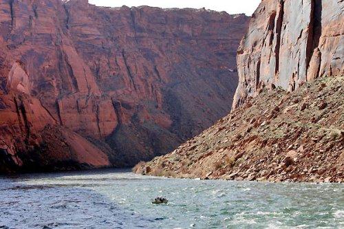 Большой Каньон заполнили водой