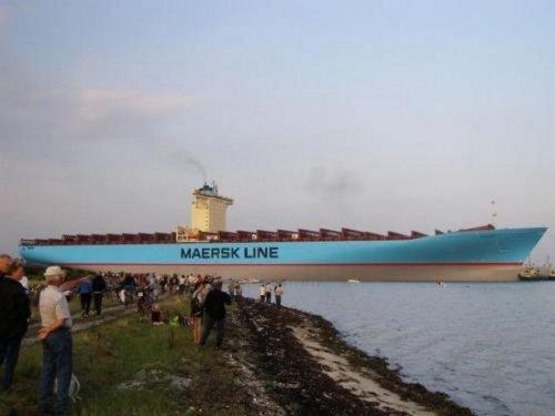 Самый большой контейнеровоз