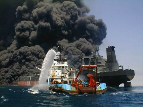Катастрофы на море