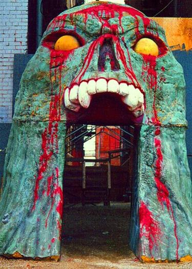 Двери - челюсти