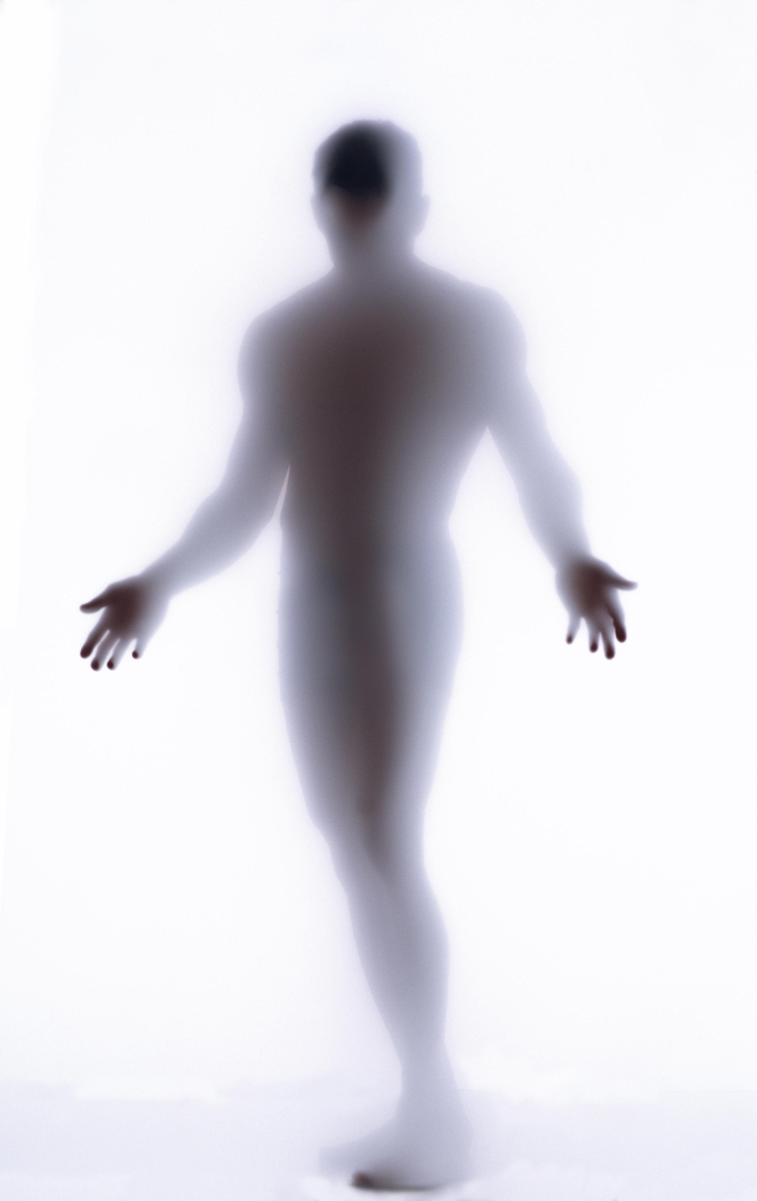 Призрак человек рисунок