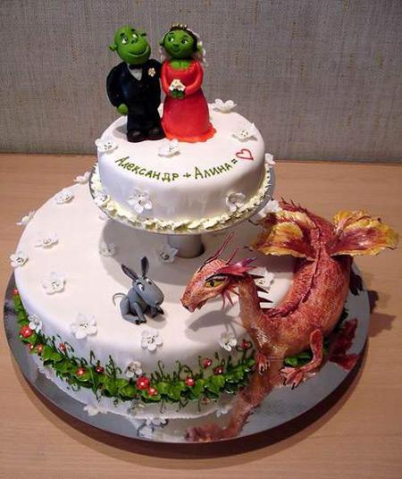 Десять тортиков на свадьбу