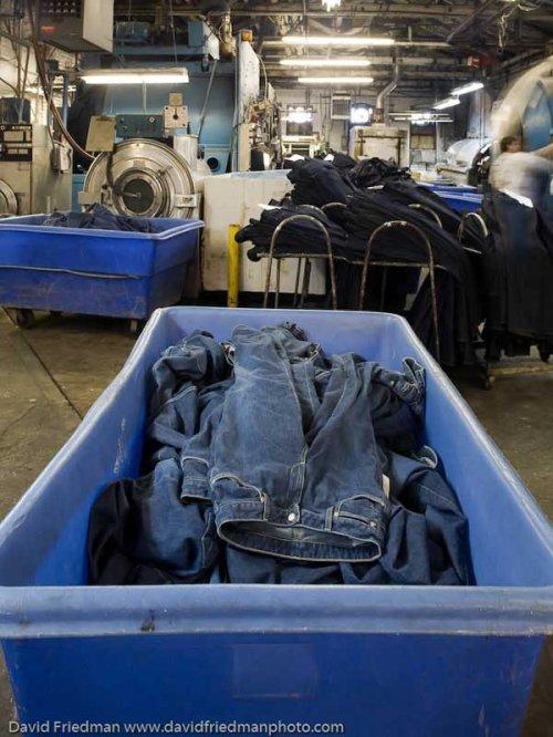 Изготовление джинсов