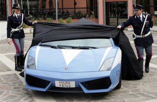 Lamborghini Gallardo для полиции